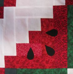 watermelon quilt block - Google Search