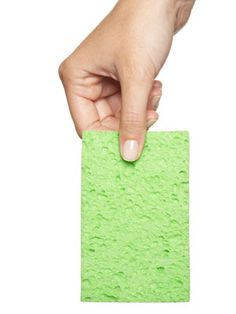 Clean your sponge!!!!! One of the most germ invested things in your home behind your toothbrush holder.  Here's how to clean it effectively.