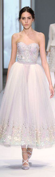 Ralph & Russo Haute Couture Spring Summer 2015 collection                                                                                                                                                     More