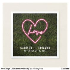 Shop Neon Boxwood Love Heart Wedding Welcome Poster created by JillsPaperie. Marriage Reception, Marriage Vows, Wedding Welcome Signs, Wedding Signs, Trendy Wedding, Dream Wedding, Welcome Poster, Wedding Napkins, Love Heart