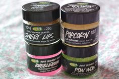 Lush Lip Scrub - love lush products.