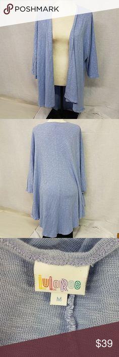 Lularoe cardigan size medium Lularoe cardigan size medium lavender 100% polyester LuLaRoe Sweaters Cardigans