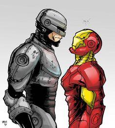 Robocop vs. Iron Man