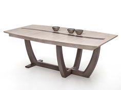 Table tonneau pied en croix - Océane - Tables de salle à manger - Tables - Salon / Séjour - Meuble