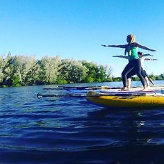 A few water warriors from last week's class 🌊 next SUP yoga class is Thursday at 6pm and it's filling up quick. Book at www.jogayoga.com.au so you don't miss out! Sup Yoga, Warriors, Thursday, Water, Books, Gripe Water, Libros, Book, Book Illustrations