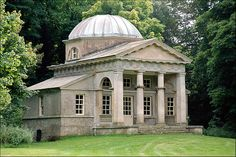 Palladian Temple in the gardens of Holkham Hall 1734 to 1764 - Norfolk, UK. photo by Xavier de Jauréguiberry, via Flickr