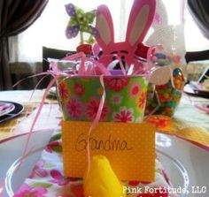 Five Special Touches For Your Easter Table - The Coconut Head's Survival Guide (During and After) Ugly Cancer ~ Beautiful Me