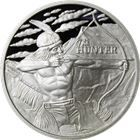The Hunter 1 oz Silver Round - Gainesville Coins Exclusive (.999 Pure)