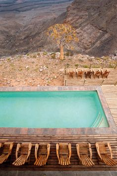 desert pool, Fish River Canyon Lodge namibia