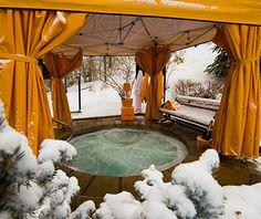 Best Hotel Hot Tubs: Park Hyatt Beaver Creek Resort & Spa, Beaver Creek, CO