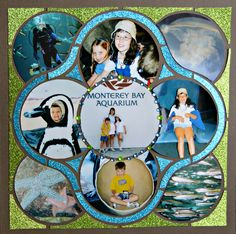 Layout created by Karen Morley using Lea France Rings template.