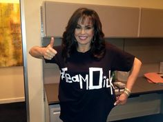 Get your mind out of the gutter! She wore this shirt for Andy Dick. Osmond Family, The Osmonds, Marie Osmond, T Shirts For Women, How To Wear, Tops, Fashion, Moda, Fashion Styles