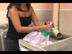 Hágalo fácil: Quitar manchas de desodorante a las camisas - YouTube