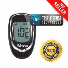 Glucometer Blood Glucose Starter Kit Sugar Monitoring Test Diabetes Diabetic New #ad