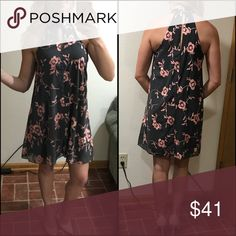 NWOT Rebellion blush floral keyhole tent dress NWOT. Smoke free home. Great deal! So pretty and stylish! This is a beautiful staple piece you can wear anywhere, school, work, office, interview, party, or casual.  MAKE AN OFFER  ***Don't forget to check out my other pieces that you can save by bundling*** Rebellion Again Dresses Midi