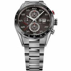 http://www.horloger-paris.com/fr/407-tag-heuer-carrera  Tag Heuer Calibre 1887 Chronographe - 43 mm : CAR2A11.BA0799