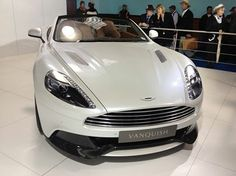 In the Presidential White. Aston Martin Vanquish, Love Car, Super Cars, Vehicles, Cars, Car, Vehicle, Tools