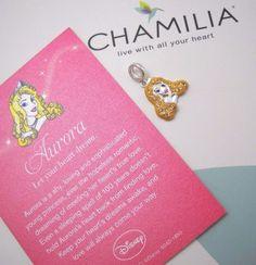 #Disney #CHAMILIA #DisneyPrincess #Aurora #SleepingBeauty #Charm (2025-1114) #ChamiliaCharm #ChamiliaBead #CharmBracelet #Jewelry #Jewellery