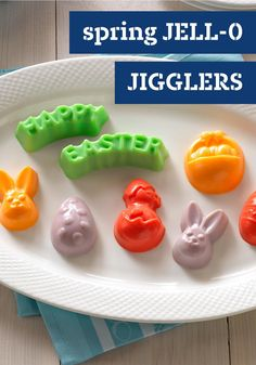 Spring JELL-O JIGGLERS – Forget the eggs. Bring on dessert! Get your jiggle on with these cute treats shaped like eggs, bunnies, chicks and baskets. Enter the Celebrate Delicious Spring Desserts Pin to Win Sweepstakes! Pin your favorite dessert or select your own for a chance to win a professional mixer! Visit www.kraftrecipes.com/springdesserts/?affiliate_id=1a for complete details.