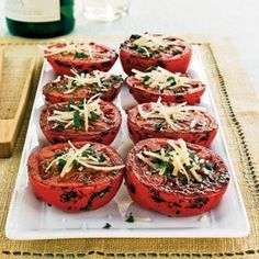 Herbed-Grilled Tomatoes   MyRecipes.com #vegetable #myplate