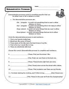 Interrogative Pronouns | Pronoun Worksheets and Worksheets