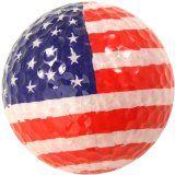 Odd Boules Design Drapeau Américain de Balles de golf Lot de 3