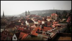 Prague roof  City and architecture photo by amatverny http://rarme.com/?F9gZi