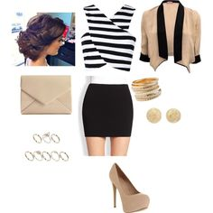 Night out at a high end club, created by meitjie on Polyvore