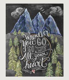 Art Print - Wherever You Go...