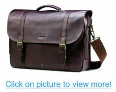 Samsonite Columbian Leather Flapover Case #Samsonite #Columbian #Leather #Flapover #Case