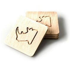 The Rhino Coaster is a great way to show your solidarity for this endangered beauty with its sharp horns tough exterior! Sold as a set of Material: Commercial Plywood Dimensions: 11 x 11 x cm Lead time of 5 - 7 days if out of stock