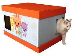 Vanity Litter Box BO4 Customizable for Single or Multiple cats