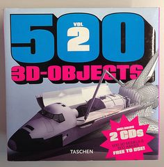 500 3D OBJECTS VOL. 2