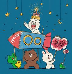 LINEFRIENDS PIC | GIFs, pics and wallpapers by LINE friends