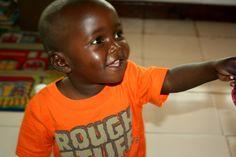 sweet Caleb love in Kenya at Neema House #project82kenya