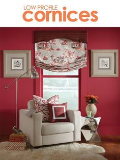 Spice up your window with the curvy, fun and flirty Low Profile Savannah cornice. The Low Profile Savannah cornice is full of character and looks great in young fresh interiors.