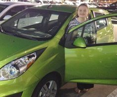BETTY and KELSEY's new 2015 CHEVROLET SPARK! Congratulations and best wishes from Orr Chevrolet and WESTON FROST.