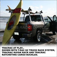 2013 TracRac T-Rac G2 Truck Rack System - Trac Rac Truck Racks & Ladder Racks- extra image 2