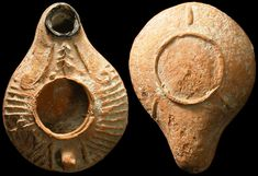 Oil lamp, biblical  ...Ancient Resource: Ancient Holy Land Biblical-Period Oil Lamps for Sale
