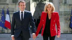 Brigitte Macron ist die Power-Frau an der Seite des französischen Präsidenten Emmanuel Macron