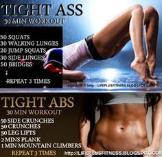 Killer Legs and Butt Workout just in time for summer! #legs #butt #workout