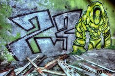 23 Aliens. my own work. #arthakker #HDR #Photography #graffiti