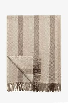 Woven Alpaca Throw in Coffee Alpaca Blanket, Alpaca Throw, Baby Alpaca, Striped Fabrics, Soft Fabrics, Button Down Sleep Shirt, Textured Yarn, Soft Blankets, Black Linen