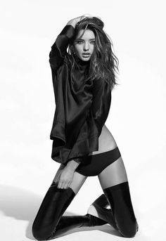 Strangely compelling, Miranda Kerr by Eric Guillemain for The Sunday...