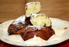 Túrófánk Vicikó konyhájából Churros, French Toast, Muffin, Breakfast, Food, Morning Coffee, Essen, Muffins, Meals
