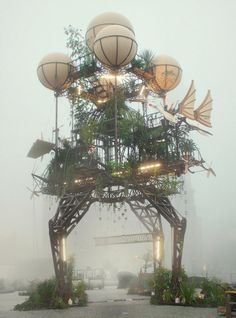 steampunk sculpture