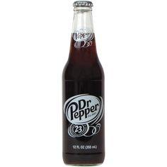 Dr Pepper Real Cane Sugar Glass Bottle
