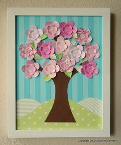 Always Spring Tree by studiohappynest on Etsy, $50.00