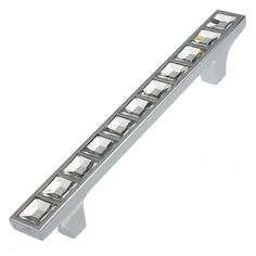 GlideRite 5 in. Center-to-Center Polished Chrome Solid Square Cabinet Bar Drawer Pulls - The Home Depot Cabinet And Drawer Pulls, Cabinet Drawers, Kitchen Cabinet Hardware, Home Hardware, Bathroom Cabinets, Drawer Hardware, Barrel Rings, Steel Barrel, Thing 1