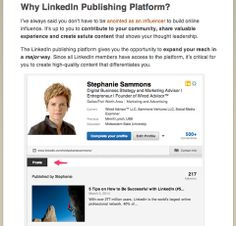 Discover expert articles to help you develop a LinkedIn marketing plan, find prospective leads and master specific parts of the LinkedIn networking platform